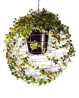 Food. Fashion. Home.: DIY Hanging Ivy Sphere