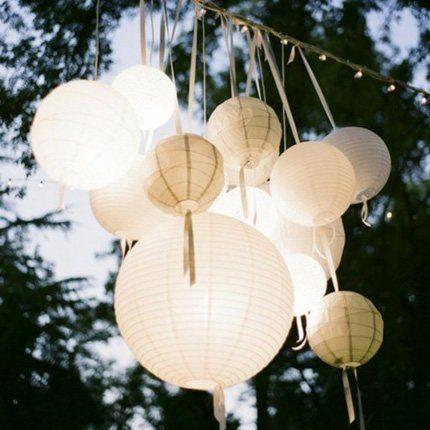 Des lampions par dizaine - Marie Claire Maison