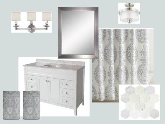 34 Best Images About Bathroom Gray On Pinterest