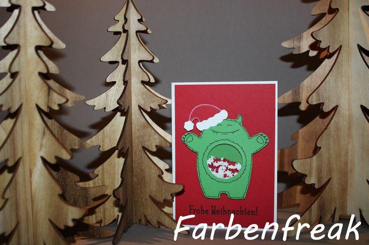 """Yummi in my Tummy"" Weihnachtskarte"