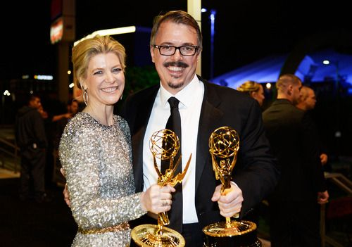 Michelle MacLaren and Vince Gilligan #BreakingBad #Emmys