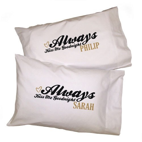 Personalized couples pillow case valentines day gift for Special valentine gifts for her