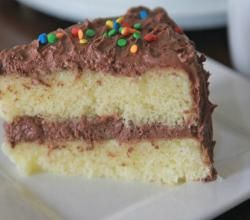 Fluffy, Moist Yellow Cake~ From Scratch Recipe Video by divascancook | ifood.tv