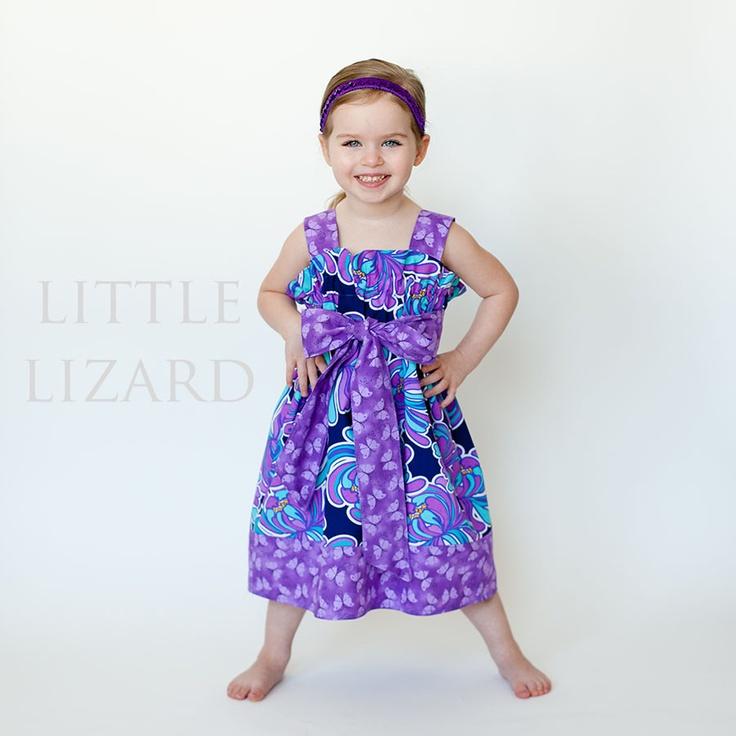 Garden Party Dress: Little Lizard King
