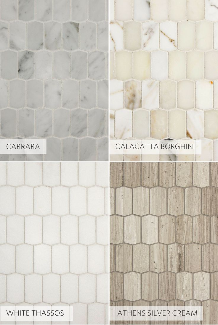 Popular stone collections in new hive pattern - a classic look for kitchen, bathroom, backsplash, fireplace, and more.