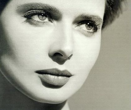 Isabella Rossellini - I've always thought she is one of the most beautiful women on the planet.  What a face!
