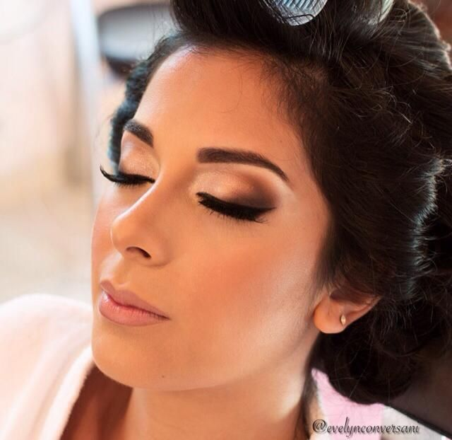 Evelyn Conversani makeup noiva