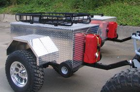 Custom Military Trailer | ... custom rock crawler trailer. See a bigger picture on our trailer page