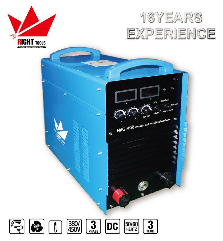380V 400amp co2 welding machine price IGBT inverter welders mig