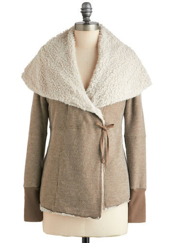 Hanging Tuft Jacket- Perfect for chilly days!
