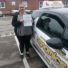 Recently Passed at #DriveDynamics: Vikkie From Warrington!
