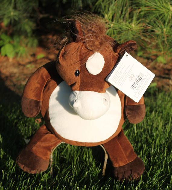 Personalized Plush Howie HORSE Embroidery Buddies Plush