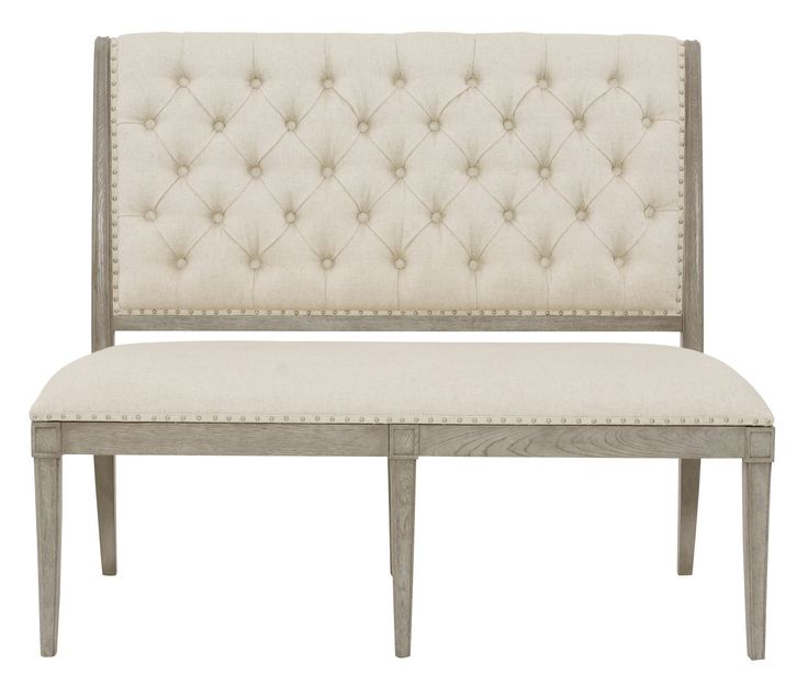 Shop Now And Save On Bernhardt Furniture Marquesa Upholstered Banquette Other Dining Room At Carolina Discount In High Point NC
