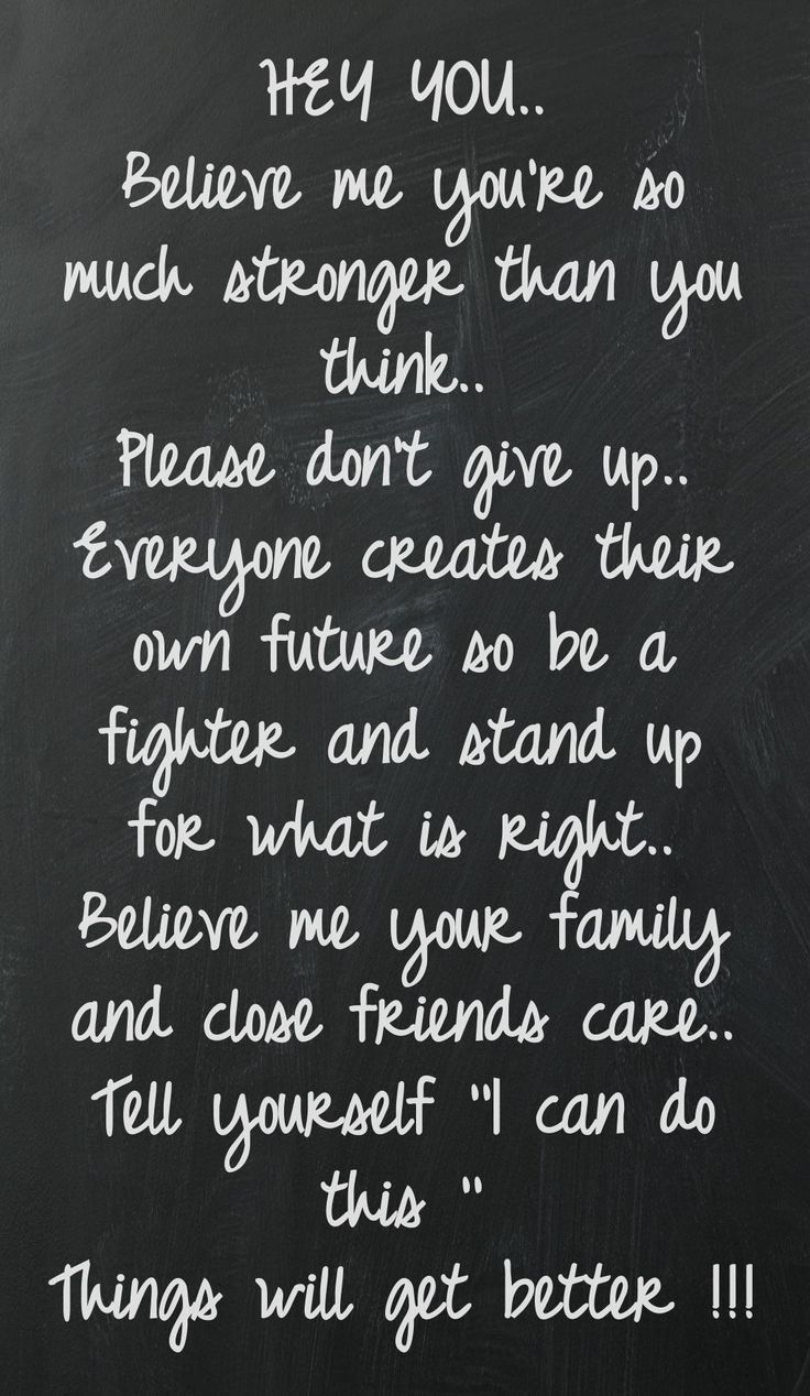 Couldnt say it better - all of those people that feel they are alone - you absolutely are not alone!!
