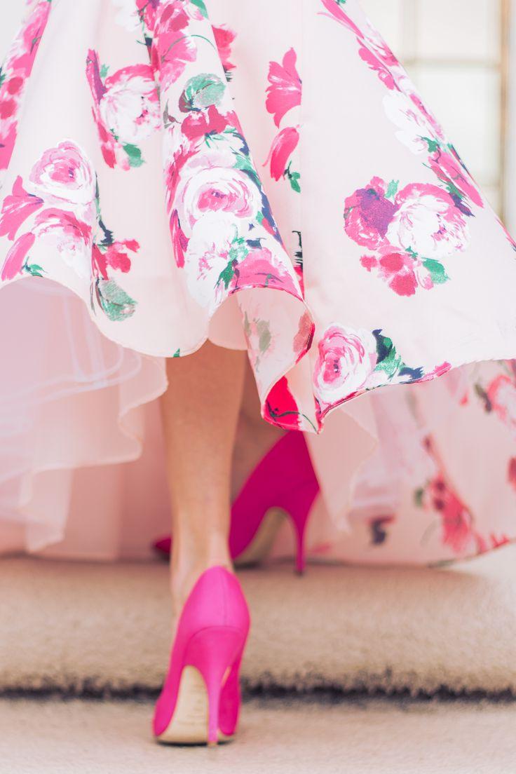 Floral two piece gown - Mckenna Bleu
