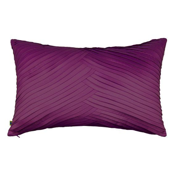 Dark Purple Pillow 12x20 Plum Throw Pillow Cover Purple Decorative Pillow Cover Cushion Pillow Case Purple Decorative Pillows Purple Pillows Pillows