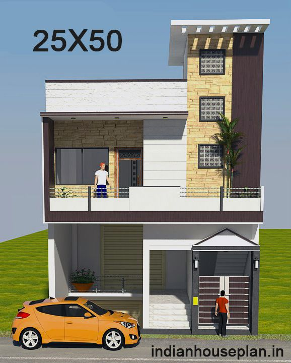 25x50 House Plan In 2020 Indian House Plans Small House Front Design One Floor House Plans