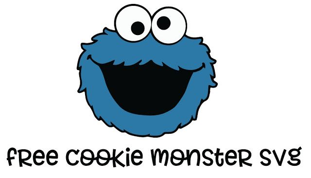 Free Cookie Monster Svg File Www My Designs4you Com