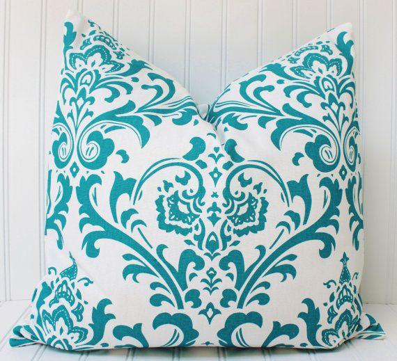 Cuscino decorativo turchese - Throw Pillow - cuscino divano - Premier stampe…