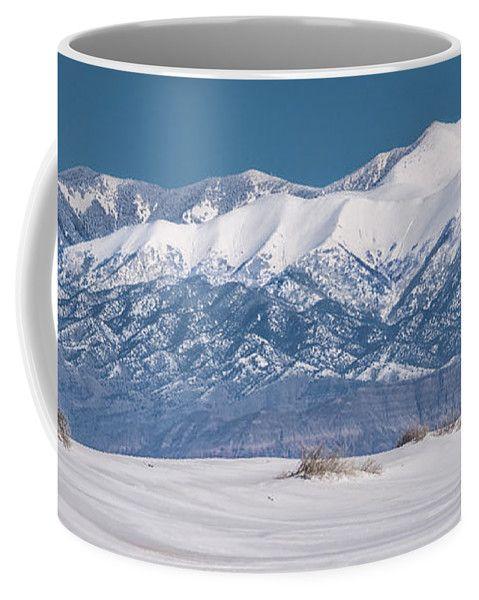 Desert Coffee Mug featuring the photograph Sierra Blanca by Racheal Christian