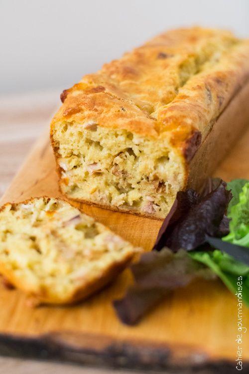 Cake salé poulet & Mozzarella | Mozzarella cheese & chicken salted Cake