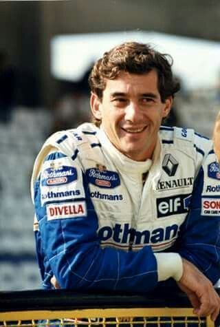 Ayrton Senna - the legend - at Interlagos, Sao Paulo, Brazil, prior to his fatal crash at Imola, Italy, on May 1, 1994 while with the Williams F1 team.