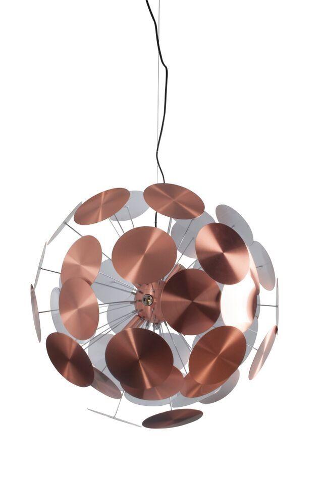 Zuiver Lampa Wisząca Plenty Work Miedziana 5300040 : Lampy wiszące metalowe : Sklep internetowy Elektromag Lighting #copper #lamp