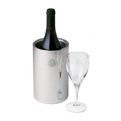 Stainless Steel Wine Bottle Cooler Min 25 - Bags - Cooler & Picnic Bags - IC-D5561 - Best Value Promotional items including Promotional Merchandise, Printed T shirts, Promotional Mugs, Promotional Clothing and Corporate Gifts from PROMOSXCHAGE - Melbourne, Sydney, Brisbane - Call 1800 PROMOS (776 667)