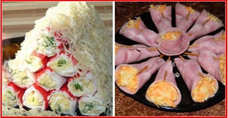 Top 5 cele mai originale aperitive pentru masa de sărbătoare! - Bucatarul