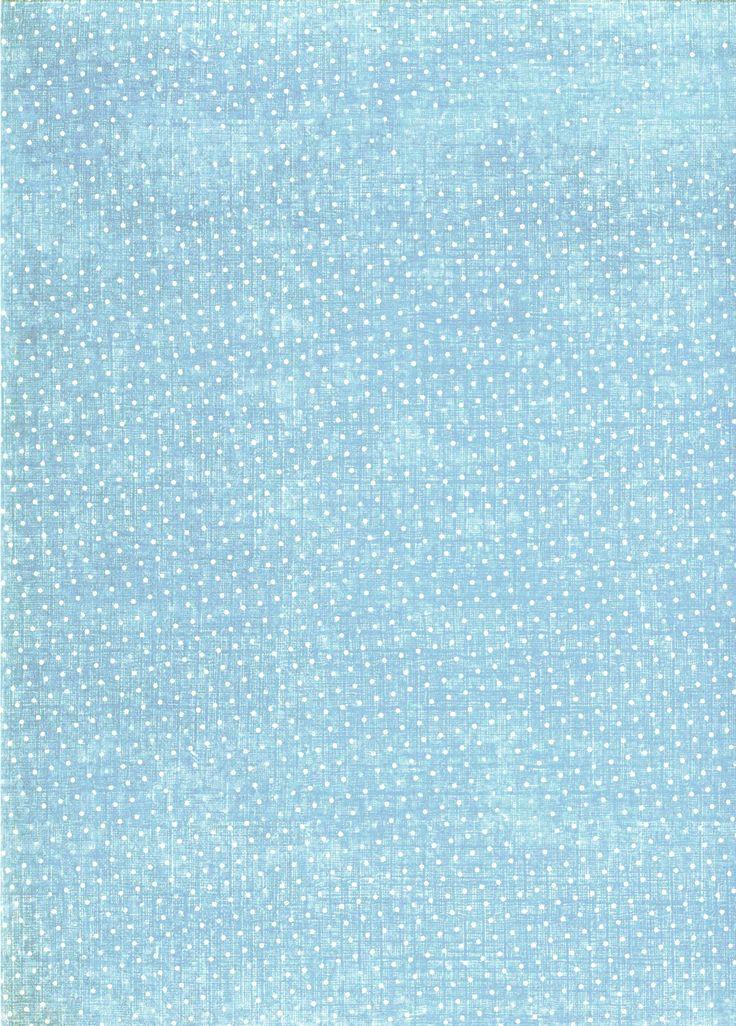 vintage blue pattern polka dots