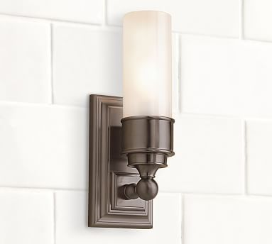 Bathroom Tube Sconces 174 best *bath > sconces* images on pinterest | bathroom ideas