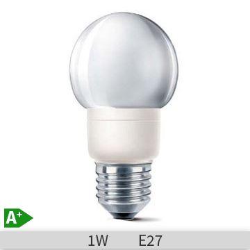 Bec led Philips DECOLED E27 1W YELLOW http://www.etbm.ro/becuri-led
