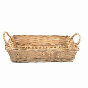 16 inch gold wicker hamper basket for fruit, food or gift hampers empty | eBay