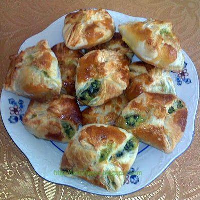 Tortafüggő Marisz: Spenótos sajtos batyu