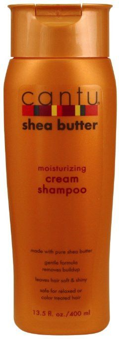 Cantu Shea Butter moisturizing cream shampoo is made with shea butter and essential oils to replace vital oil in your hair leaving it stronger, healthier, with a natural shine. Whether your hair is ch