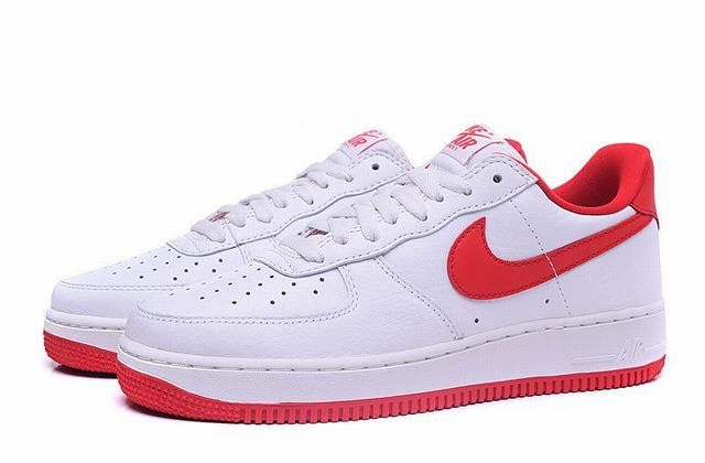 air force one blanc et rouge homme