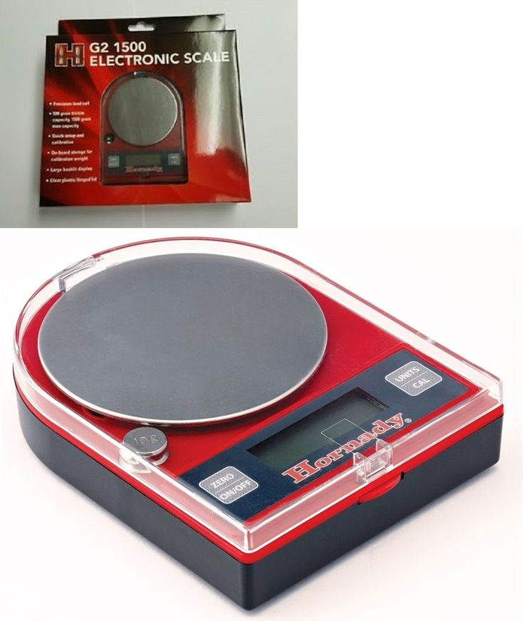 Powder Measures Scales 71119: Hornady G2 1500 Electronic Powder Reloading Scale - 050106 -> BUY IT NOW ONLY: $32.99 on eBay!