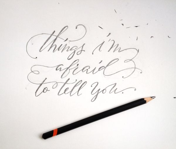 Hand Lettering A Few Of My Favourite Things Pinterest