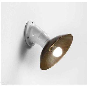 Il Fanale Mini, nástěnné svítidlo v kombinaci bílé