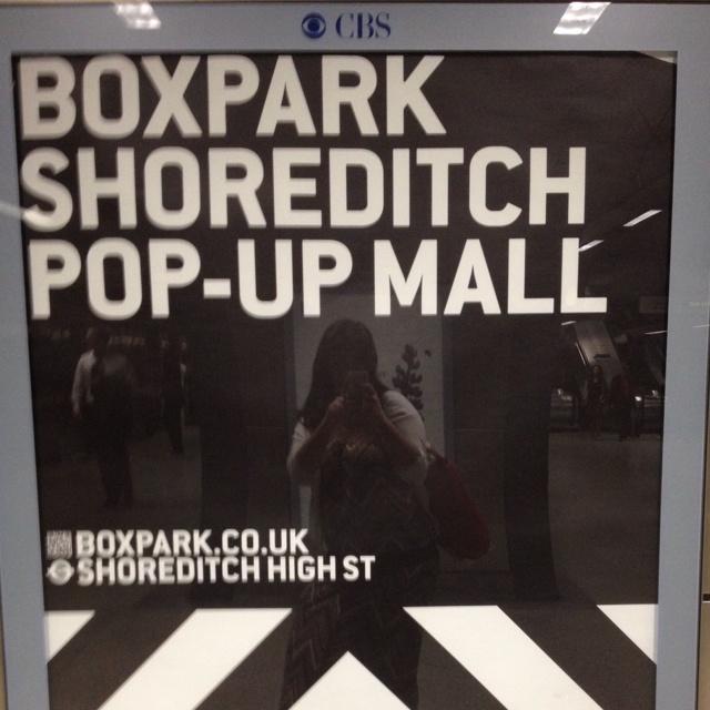 Shoreditch pop up mall
