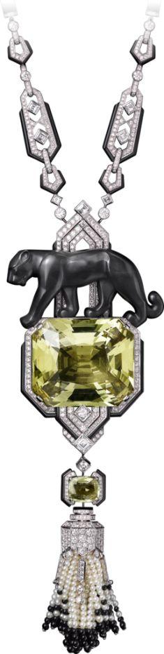 High Jewelry Panthère de Cartier necklace