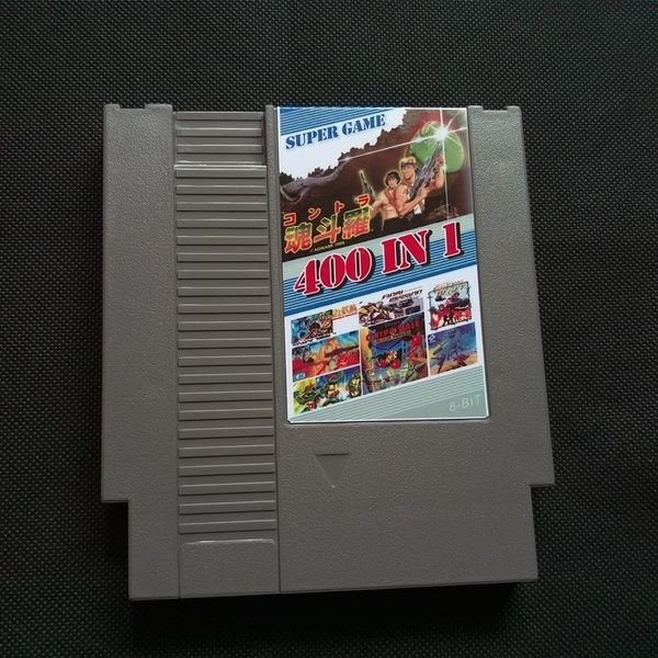 400 In 1 Diy 72 Pins 8 Bit Game For Nes With Game Contra 7 Ninja