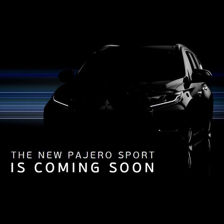The New #PajeroSport Is Coming Soon #PajeroSport2016: A Car with Stunning Features