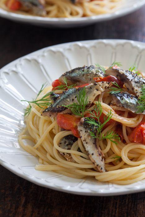 20161028秋刀魚とトマトのパスタ.jpg
