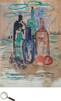 Krishnaji Howlaji Ara (1914 - 1985), Untitled (Still Life), watercolour on paper