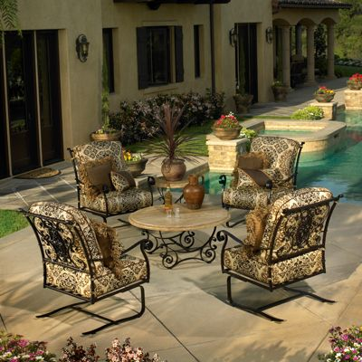How to identify quality wrought iron furniture