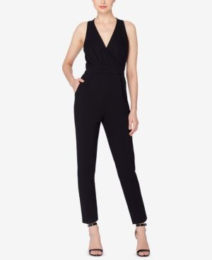 Catherine Malandrino Josie Open-Back Jumpsuit - Black 12