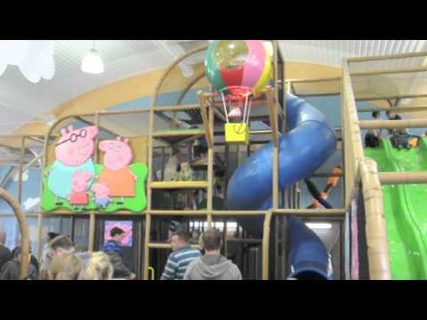 World wide installations by International Play Company #Iplayco - Pepper Pig World Aug 2011 - YouTube at Paulton's Park / Peppe Pig in the UK. We manufactured and installed the indoor playground at George's Spaceship building.  #commercial #indoor #play #structures #playground #equipment