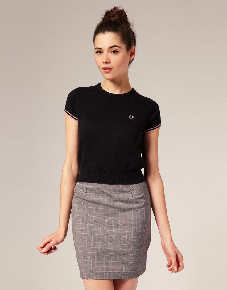 Fred Perry adorable!
