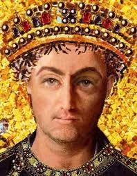 ARTICULO 3 - 06 - Tras su muerte en el año 526, la situación se volvió tan violenta que en el 535 el emperador bizantino Justiniano I envió al general Belisario contra los ejércitos ostrogodos en Italia. La superioridad del ejército bizantino fue la clave para el exterminio y el aplastamiento de la resistencia ostrogoda.